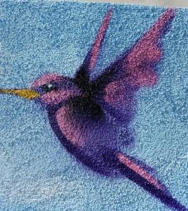 Humming Birds Mural Mckay