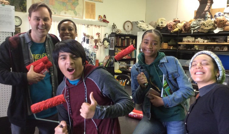 Giving the gift of tools for young minds to create.
